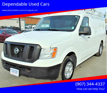 2016 Nissan NV Cargo for sale at Dependable Used Cars in Anchorage AK