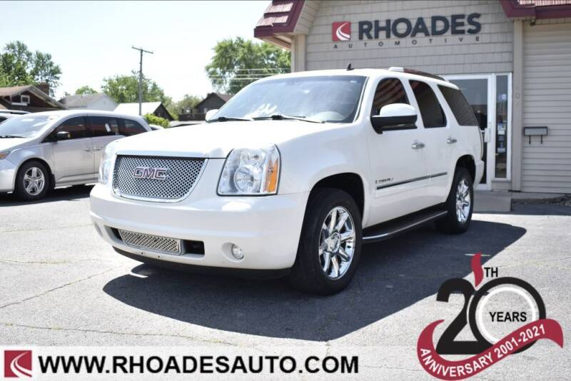 2009 GMC Yukon for sale at Rhoades Automotive in Columbia City IN