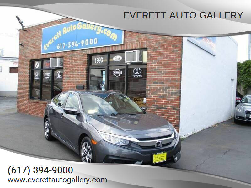 2018 Honda Civic for sale at Everett Auto Gallery in Everett MA