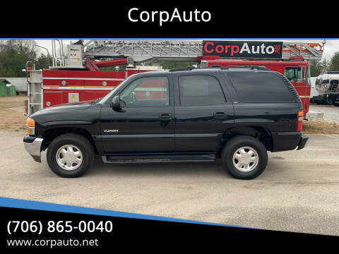 2003 GMC Yukon for sale at CorpAuto in Cleveland GA