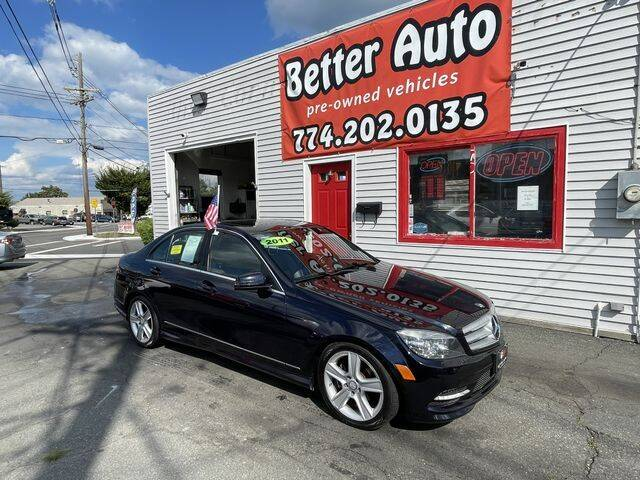 2011 Mercedes-Benz C-Class for sale at Better Auto in Dartmouth MA