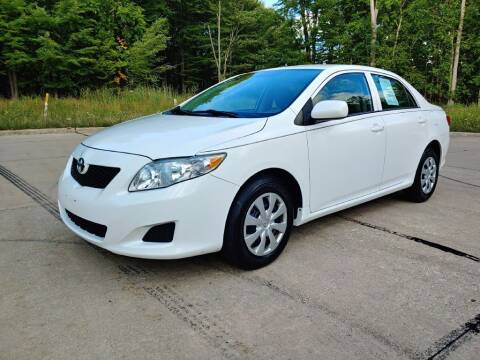 2010 Toyota Corolla for sale at Autolika Cars LLC in North Royalton OH