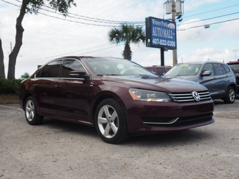 2014 Volkswagen Passat for sale at Winter Park Auto Mall in Orlando FL