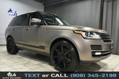 2015 Land Rover Range Rover for sale at AUTO HOLDING in Hillside NJ