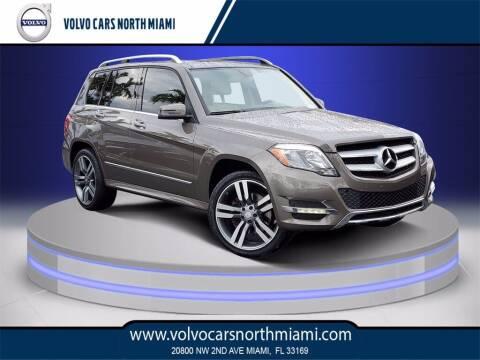 2015 Mercedes-Benz GLK for sale at Volvo Cars North Miami in Miami FL