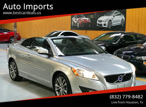 2012 Volvo C70 for sale at Auto Imports in Houston TX