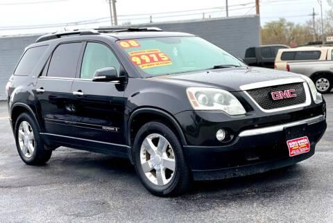 2008 GMC Acadia for sale at SOLOMA AUTO SALES in Grand Island NE
