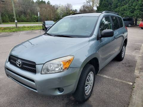 2007 Toyota RAV4 for sale at Carolina Auto Trading in Raleigh NC