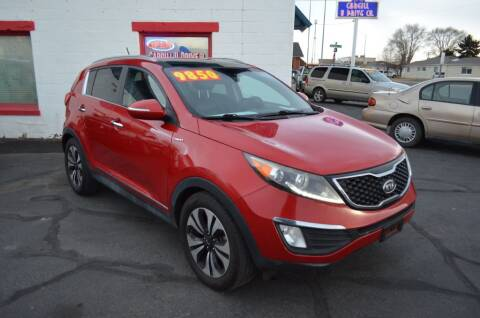 2011 Kia Sportage for sale at CARGILL U DRIVE USED CARS in Twin Falls ID