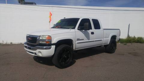 2004 GMC Sierra 2500HD for sale at Advantage Auto Motorsports in Phoenix AZ