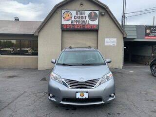 2014 Toyota Sienna for sale at Utah Credit Approval Auto Sales in Murray UT