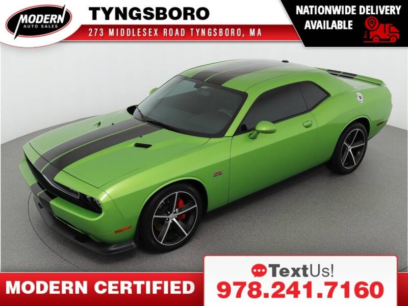 2011 Dodge Challenger for sale at Modern Auto Sales in Tyngsboro MA