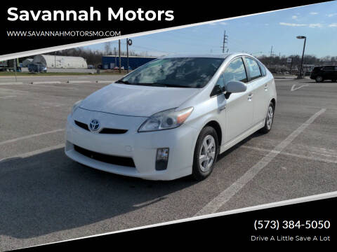 2010 Toyota Prius for sale at Savannah Motors in Elsberry MO