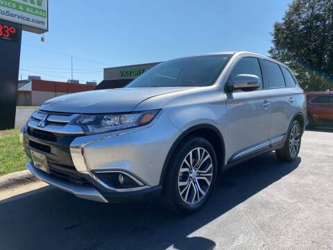 2018 Mitsubishi Outlander for sale at MIDWEST CAR SEARCH in Fridley MN