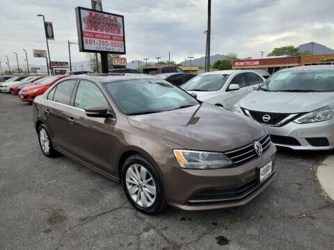 2015 Volkswagen Jetta for sale at ATLAS MOTORS INC in Salt Lake City UT
