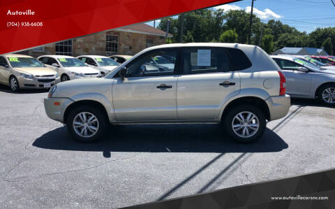 2009 Hyundai Tucson for sale at Autoville in Kannapolis NC