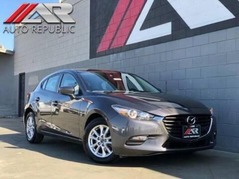2018 Mazda MAZDA3 for sale at Auto Republic Fullerton in Fullerton CA