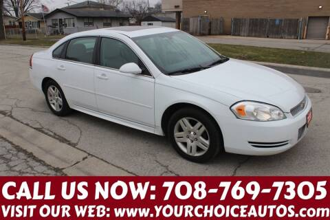 2014 Chevrolet Impala Limited for sale at Your Choice Autos in Posen IL