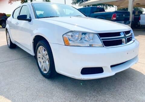 2014 Dodge Avenger for sale at Thornhill Motor Company in Hudson Oaks, TX