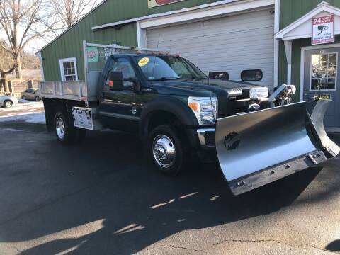 2012 Ford F-550 Super Duty for sale at ALL Motor Cars LTD in Tillson NY