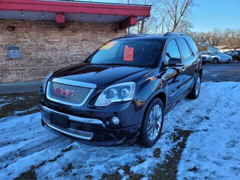 2012 GMC Acadia for sale at Murdock Used Cars in Niles MI
