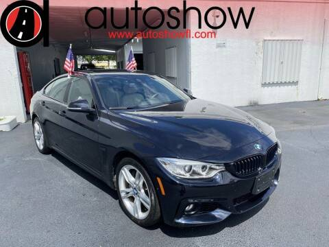 2017 BMW 4 Series for sale at AUTOSHOW SALES & SERVICE in Plantation FL
