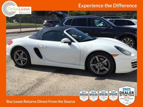 2013 Porsche Boxster for sale at Dallas Auto Finance in Dallas TX