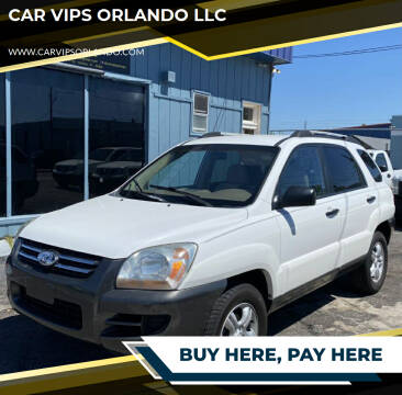 2005 Kia Sportage for sale at CAR VIPS ORLANDO LLC in Orlando FL