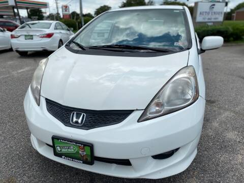 2009 Honda Fit for sale at Auto Union LLC in Virginia Beach VA
