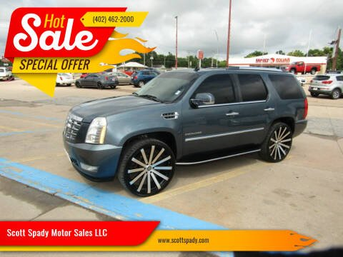 2010 Cadillac Escalade for sale at Scott Spady Motor Sales LLC in Hastings NE