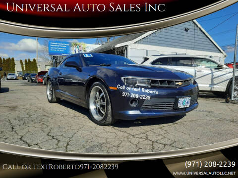 2014 Chevrolet Camaro for sale at Universal Auto Sales Inc in Salem OR