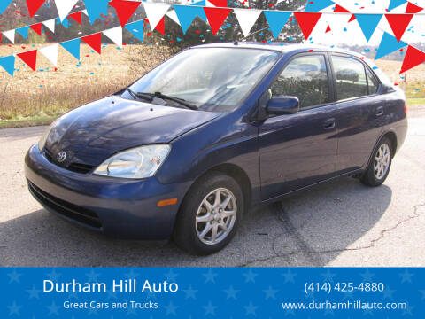 2003 Toyota Prius for sale at Durham Hill Auto in Muskego WI