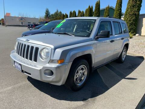 2009 Jeep Patriot for sale at AUTOTRACK INC in Mount Vernon WA