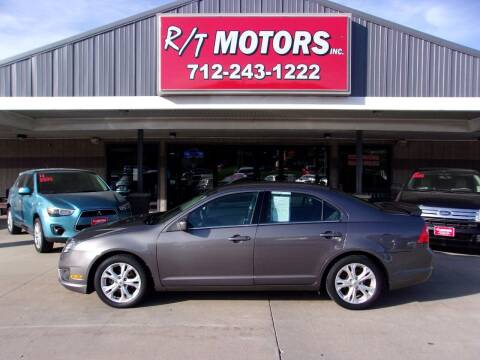 2012 Ford Fusion for sale at RT Motors Inc in Atlantic IA