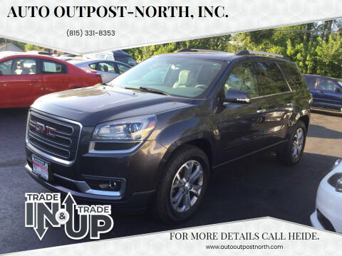 2015 GMC Acadia for sale at Auto Outpost-North, Inc. in McHenry IL