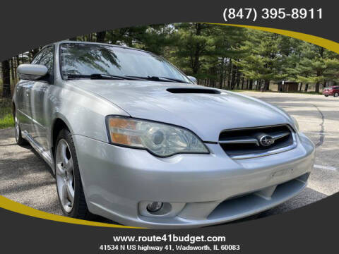 2006 Subaru Legacy for sale at Route 41 Budget Auto in Wadsworth IL