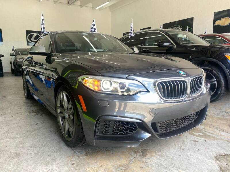2014 BMW 2 Series for sale at GCR MOTORSPORTS in Hollywood FL