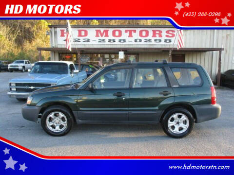 2003 Subaru Forester for sale at HD MOTORS in Kingsport TN