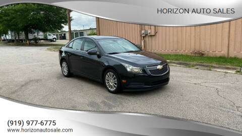2012 Chevrolet Cruze for sale at Horizon Auto Sales in Raleigh NC
