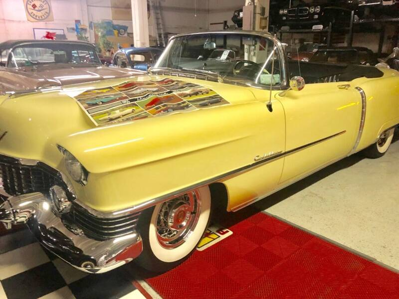 1954 Cadillac Series 62 for sale at Berliner Classic Motorcars Inc in Dania Beach FL