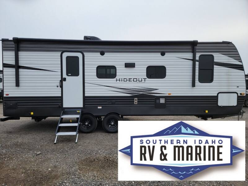 2021 KEYSTONE HIDEOUT 243RB for sale at SOUTHERN IDAHO RV AND MARINE - New Trailers in Jerome ID