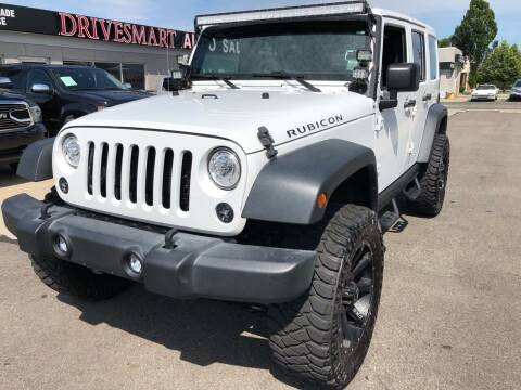 2017 Jeep Wrangler Unlimited for sale at DriveSmart Auto Sales in West Chester OH