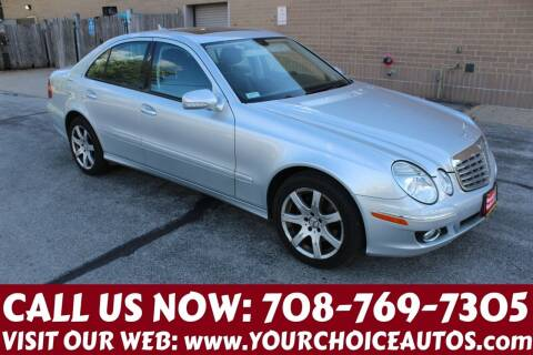 2007 Mercedes-Benz E-Class for sale at Your Choice Autos in Posen IL