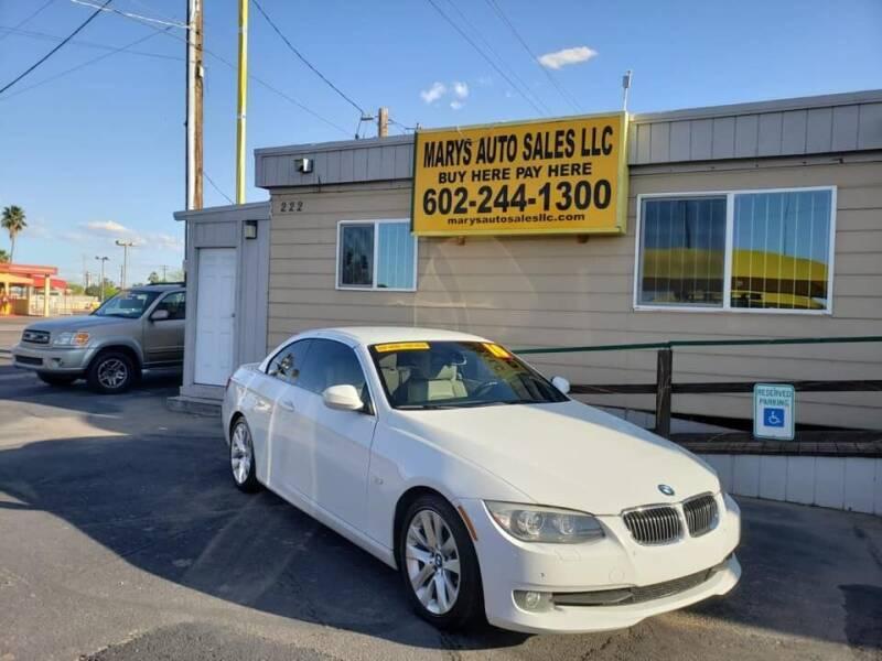 2011 BMW 3 Series for sale at Marys Auto Sales in Phoenix AZ
