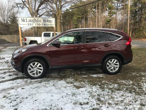 2016 Honda CR-V for sale at McLaughlin Motorz in North Muskegon MI