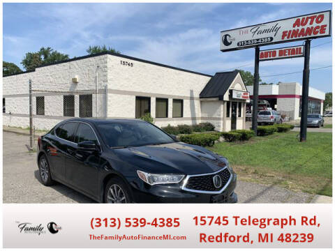 2020 Acura TLX for sale at The Family Auto Finance in Redford MI