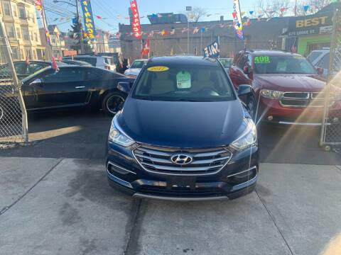 2017 Hyundai Santa Fe Sport for sale at Best Cars R Us LLC in Irvington NJ