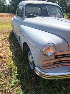 1949 Plymouth Deluxe for sale at 66 Auto Center in Joplin MO