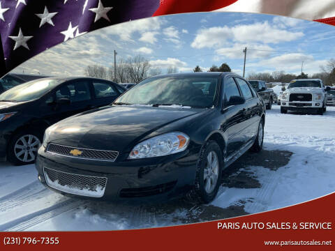 2016 Chevrolet Impala Limited for sale at Paris Auto Sales & Service in Big Rapids MI