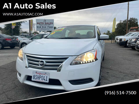 2015 Nissan Sentra for sale at A1 Auto Sales in Sacramento CA